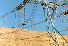 Изоляция ВЛ, металлическая анкерная опора, фаза расщеплена на два провода.